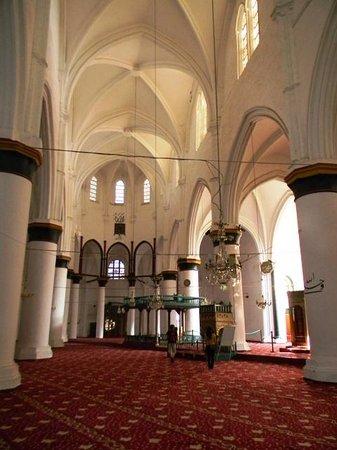 Selimiye Mosque: la navata centrale