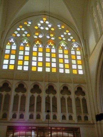Selimiye Mosque: le  vetrate gotiche