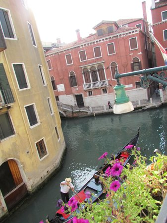 Hotel Colombina: view from room