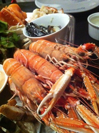 Summer Isles Hotel: Seafood platter