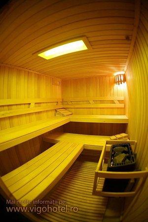 Vigo Hotel: Sauna
