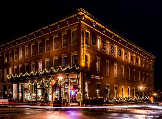 Image credit to Garth Fuerste Photography - DeSoto House Hotel