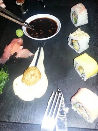 Sivory Punta Cana Boutique Hotel: Dinner at Asian inspired restaurant