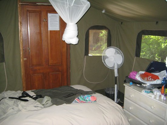 Shindzela Tented Safari Camp : Vårt rom