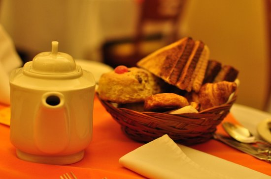 Garnish House: 朝食