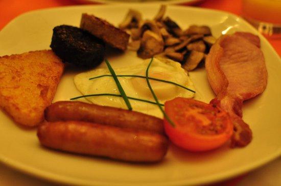 Garnish House: 朝食アイリッシュブレックファスト