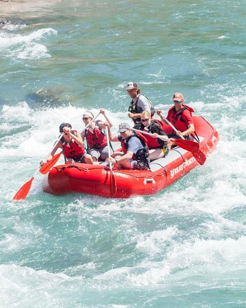 West Glacier, MT: Enjoy the Rafting Experience with Friends and Family