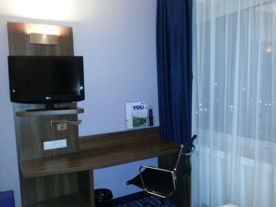 Holiday Inn Express Amsterdam-Sloterdijk Station: Habitación