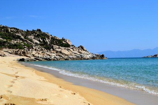 Kalamitsi, Hellas: Left side