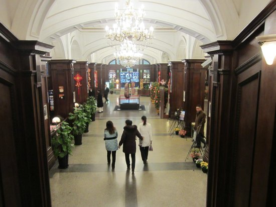Astor House Hotel: The foyer