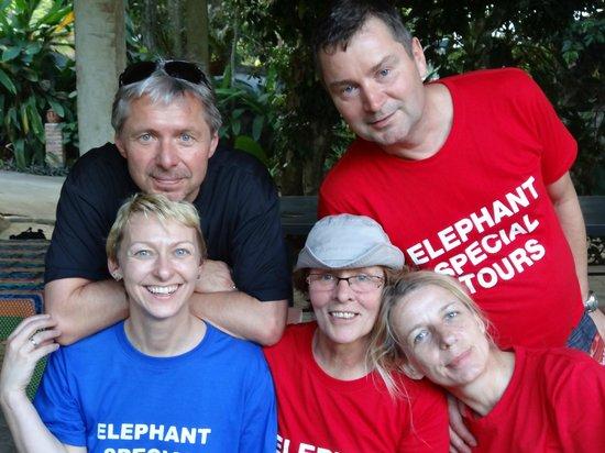 Elephant Special Tours: Das verrückteste Teilnehmer - Team