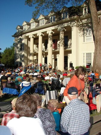 Athens Visitors Center: Tennessee Valley Old Time Fiddlers Convention in October at Athens State University
