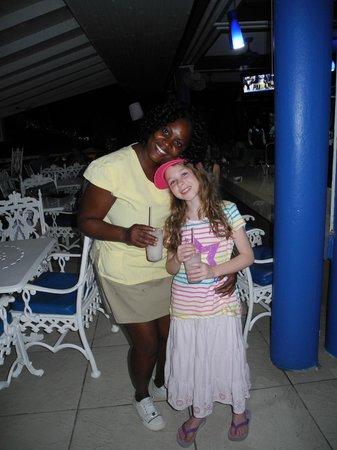 Franklyn D Resort & Spa: Sharlene and Kate