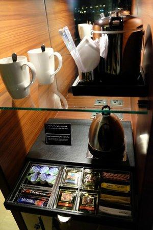 Fairmont Bab Al Bahr : Tea and Coffee selections