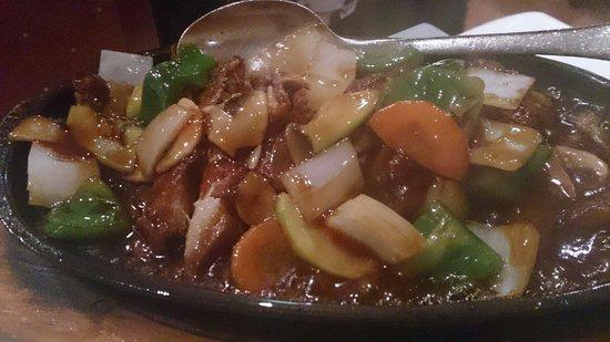 China Garden : Tiepan peking Duck menu