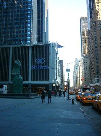 The Hilton Club - New York: entrance