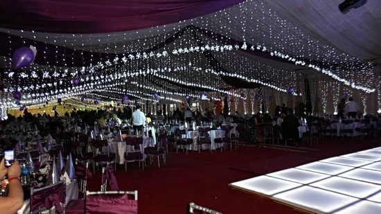 Xperience Sea Breeze Resort: new year marquee