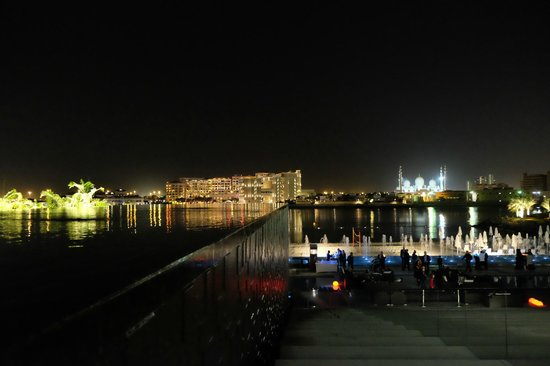 Fairmont Bab Al Bahr: Night view