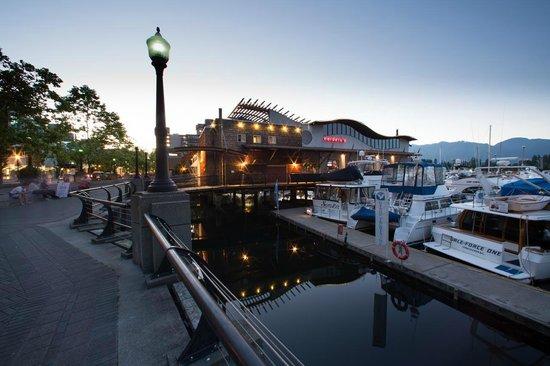 Cardero S Restaurant Coal Harbour Quay Vancouver Bc Canada