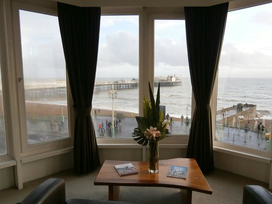 Queens Hotel : Marvellous view of the Palace Pier