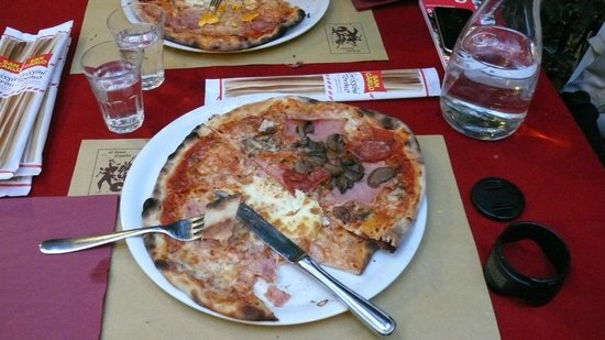 Osteria Nono Risorto: pizza