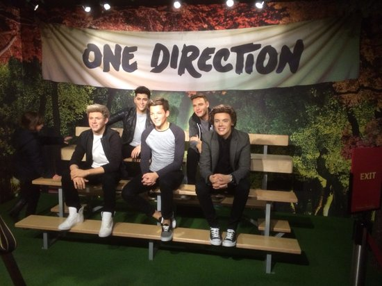 Madame Tussauds London: One Direction