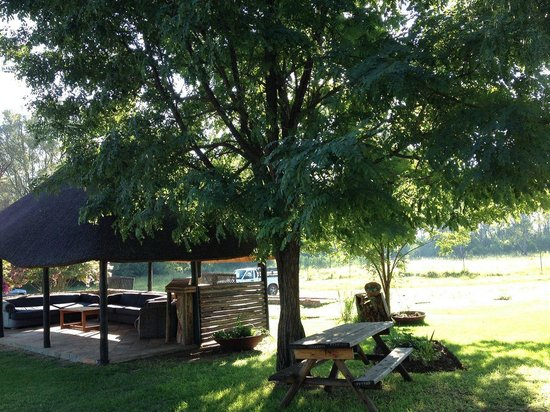 Savannah Game & River Retreat: Pool area
