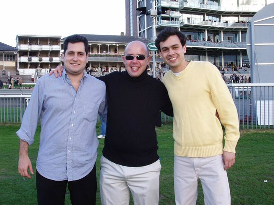 York Racecourse : Javier, Simon and Thiago - 2004