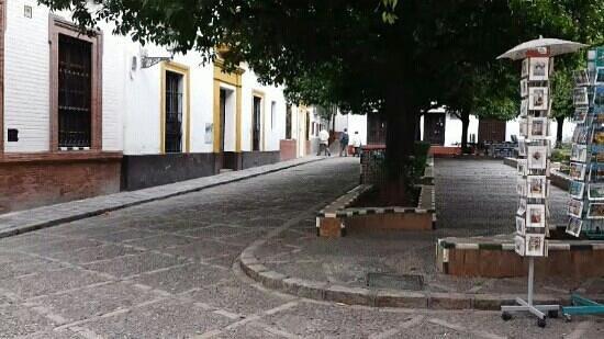 Barrio Santa Cruz : plaza doña Elvira