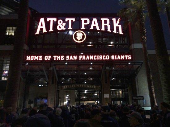 AT&T Park : Entrance