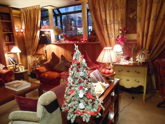 Clima natalizio all'hotel britannique..