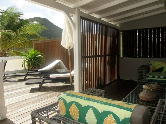 Sol e Luna Guest House : outdoor living space of Jasmine