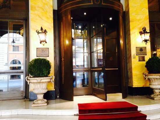 The St. Regis Rome: Front entrance