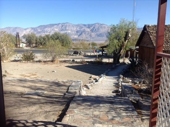 Panamint Springs Resort : view from cottage