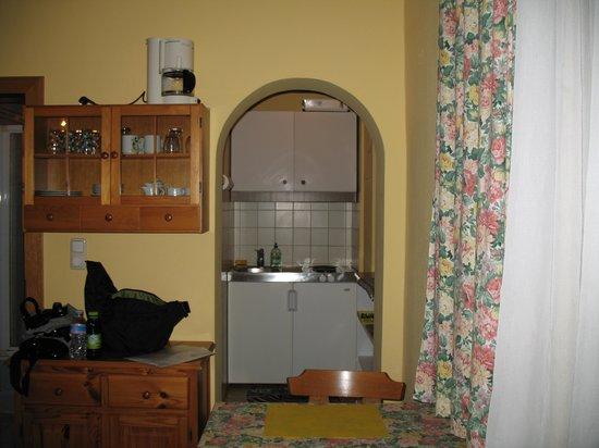Apartments Wirrer: cucina e zona pranzo