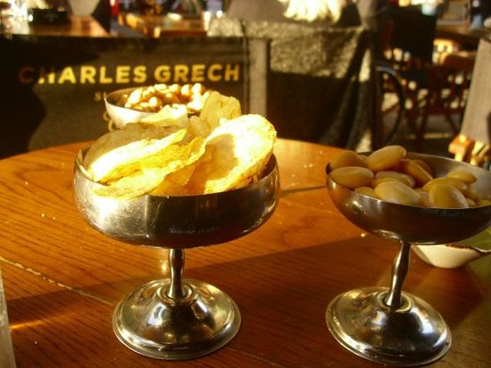 Charles Grech: Chips, peanuts and horse beans
