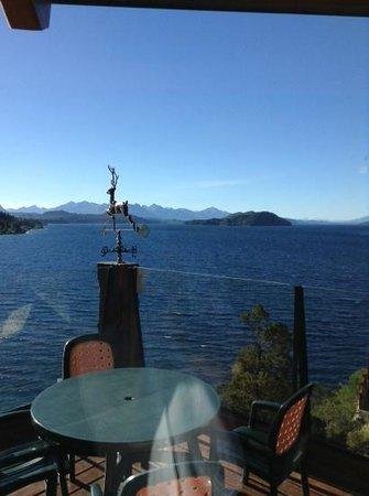 Charming Luxury Lodge & Private Spa : Vista da mesa do restaurante