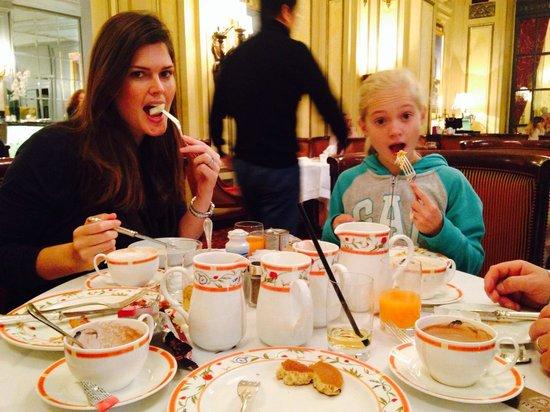 The St. Regis Rome: Enjoying buffet!