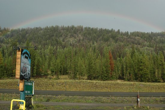 Wilderness Boundary Restaurant: A Summer Mountain Rainbow.