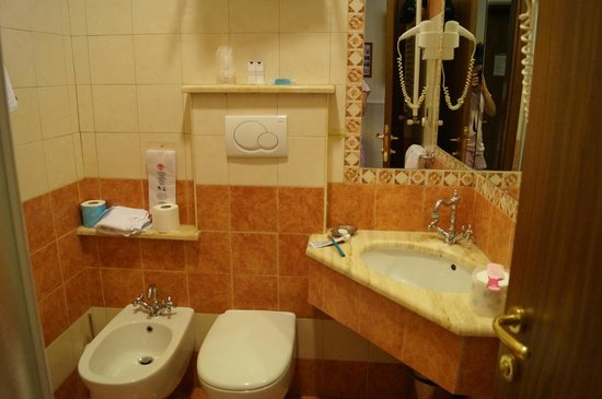 Hotel des Artistes : bathroom