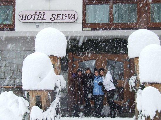 Hotel Selva : All'ingresso dell'hotel