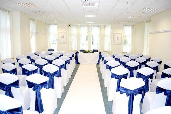 Cheadle House: ceremony room
