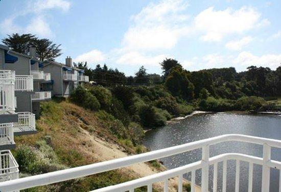 Beach House Inn: View from a room