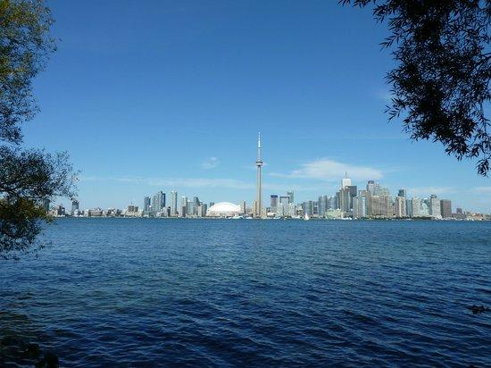 Toronto Island Park: Blick auf Toronto