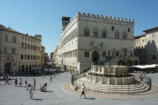 Old Town: View from Cathedral (Fontana Maggiore)