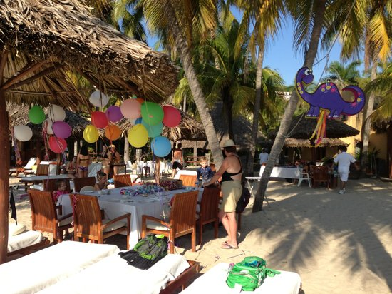 Viceroy Zihuatanejo: Birthday party