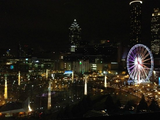 Omni Atlanta Hotel at CNN Center: View out my window