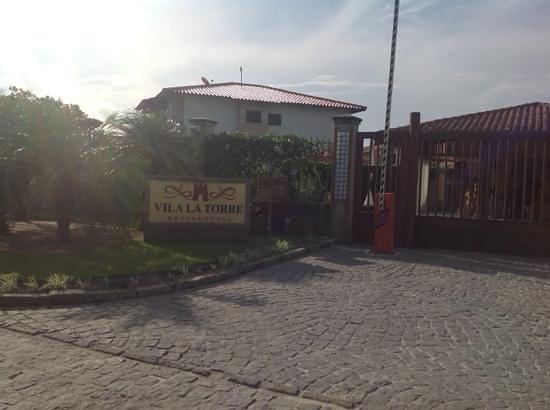 Resort La Torre : Entrada do Villa La Torre...