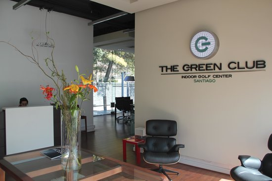 The Green Club Santiago Indoor Golf Center