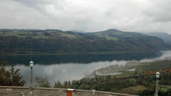 Columbia River Gorge National Scenic Area: View is from around the surrounding areas.